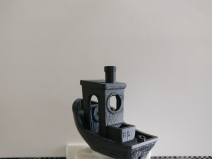 3DBenchy Ship, ABS Black